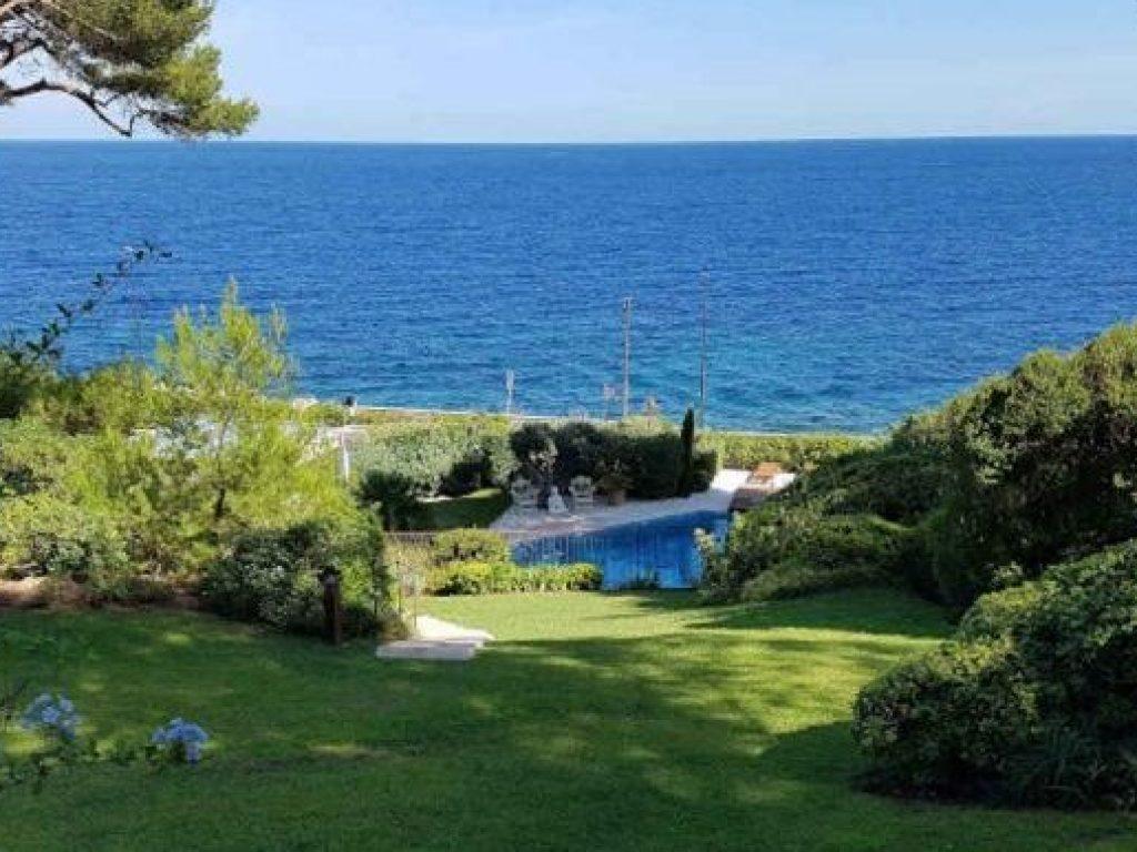 Photo d'un jardin sur la cap d'Antibes